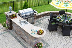 Greensboro NC outdoor bbq Granite kitchen Exclusive Marble & Granite Greensboro